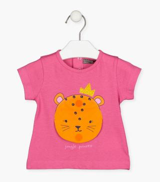 Tiger patch t-shirt.