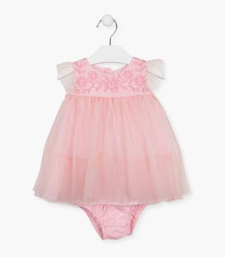 Tulle dress with knickers.