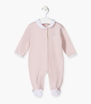 Cherry print sleepsuit.