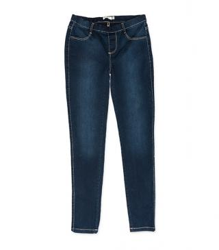 Jeggings in tessuto jeans.