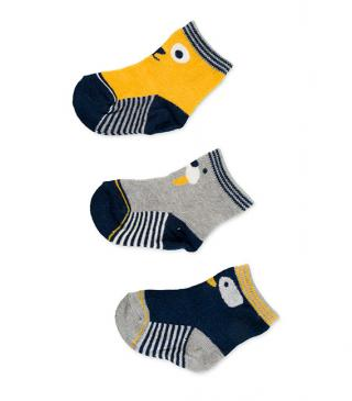 Jacquard sock 3-pack
