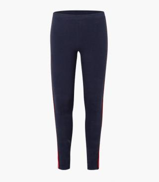 Leggings featuring side stripes.