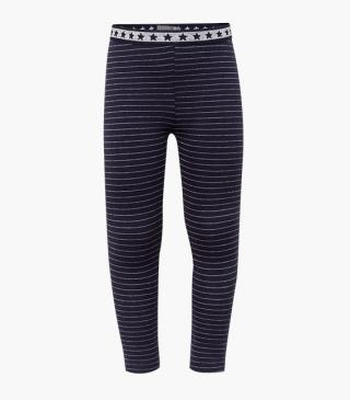 Leggings featuring elasticated waistband with star motifs.