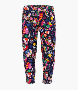Jegging con estampado multicolor.