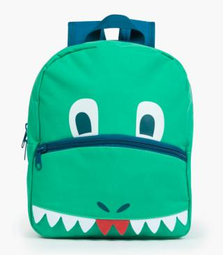 Dinosaur print backpack.