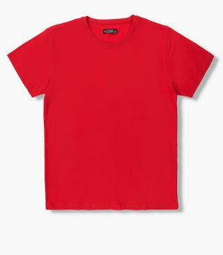 Short-sleeved cotton t-shirt from the essential collection for man