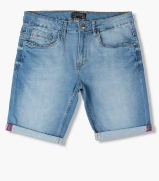 Denim shorts from essential collection for man