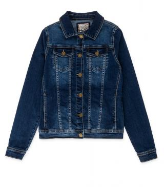 Denim jacket from our essential collection for woman