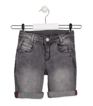 Denim shorts from the essential collection for junior boy