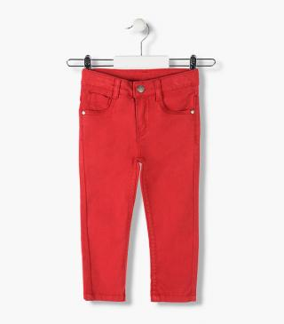 Twill skinny trousers from our range of wardrobe essentials for junior boy
