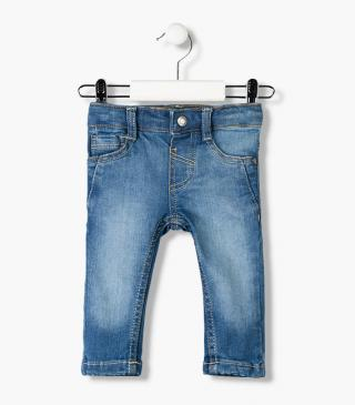 Stretch denim jeans from the essential collection for baby boy