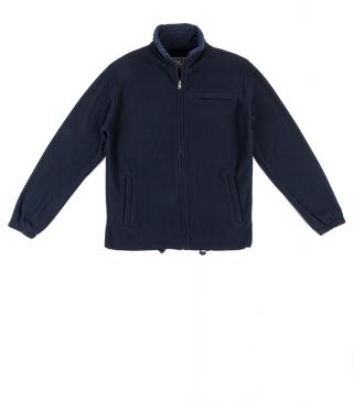 Basic fleece jacket with chest pocket.